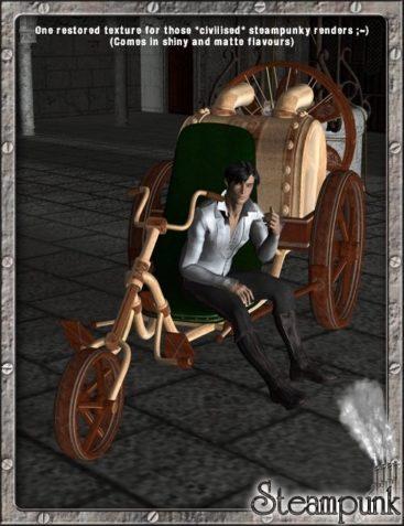 Steam Rider - Vintage & Restored