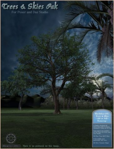 Trees and Skies Pak for WorldBase-XT