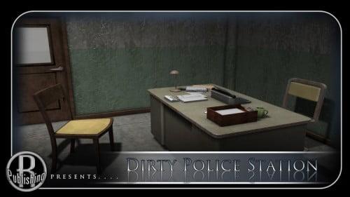Dirty Police Station (Poser, Vue & OBJ)