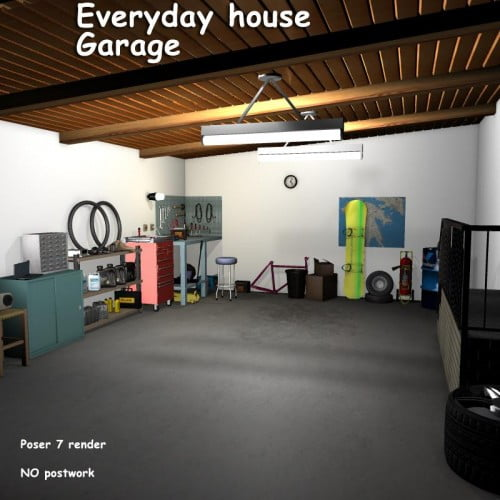 Everyday house - Garage