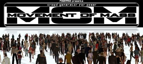 M.O.M Crowd generator