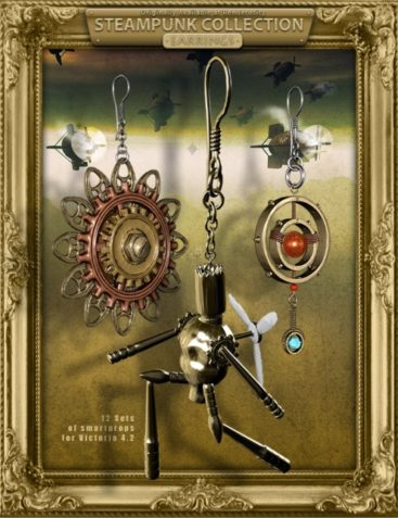 Steampunk Collection Earrings