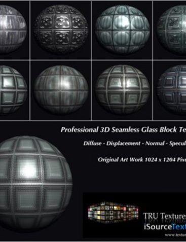 TRU Textures - Seamless Glass Block Textures
