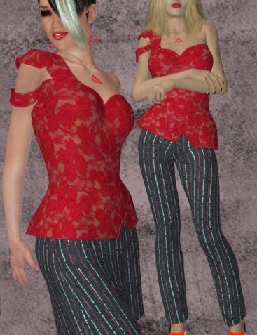 Natasha Clothing and Jewels for V4-S4-Elite-A4-Alice