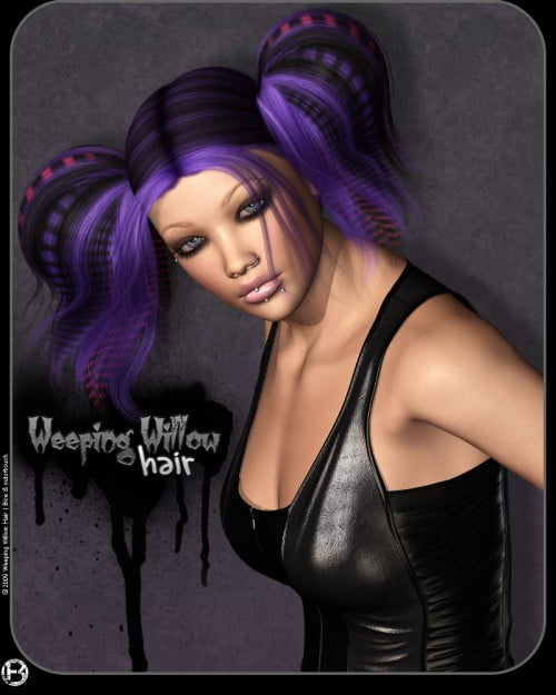 Weeping Willow Hair