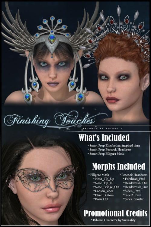 Finishing Touches: Headpieces Volume 1