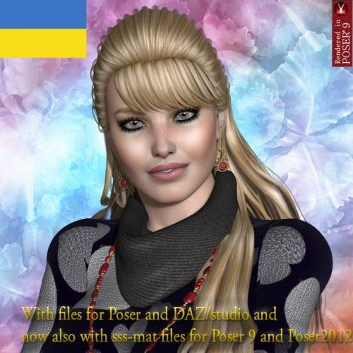 Ethnic Beauty Nastasja