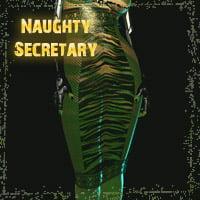 Naughty Secretary for Long Pencil Skirt
