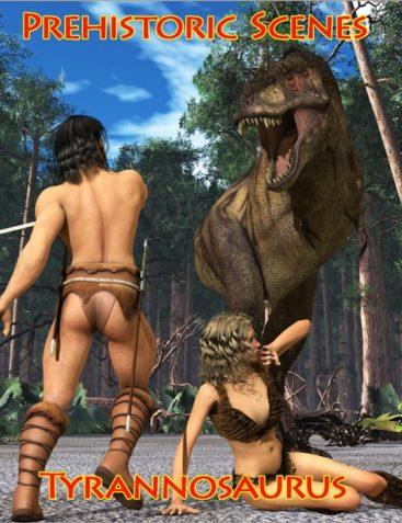 Prehistoric Scenes: Tyrannosaurus