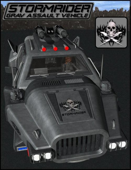StormRider Grav Assault Vehicle