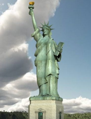 Statue of Liberty (for Poser)