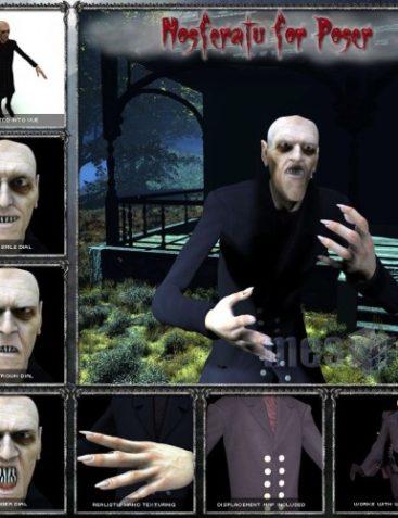 Nosferatu for Poser