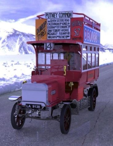 1910 B Type Bus for Poser 4 and above