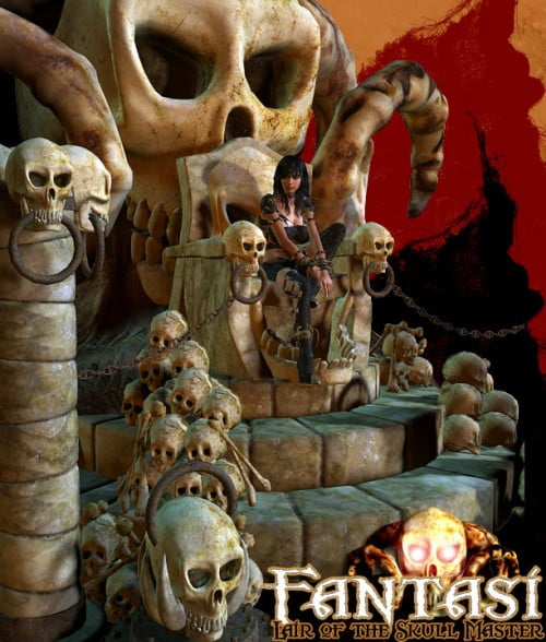 Fantasi - Lair of the Skull Master