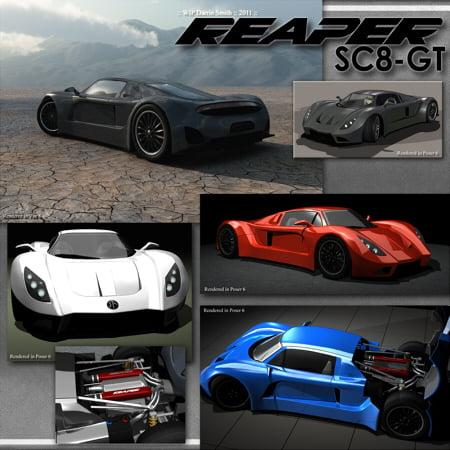 REAPER SC8-GT