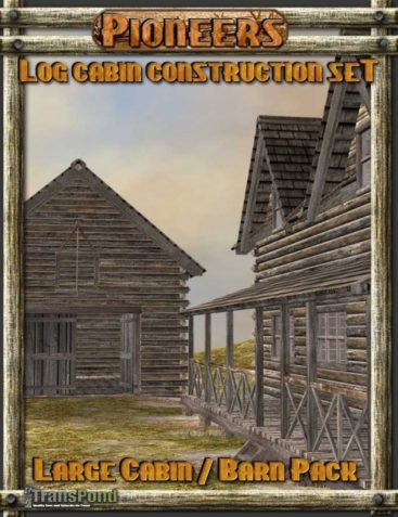 Log Cabin Construction Set ? Large Cabin Pack