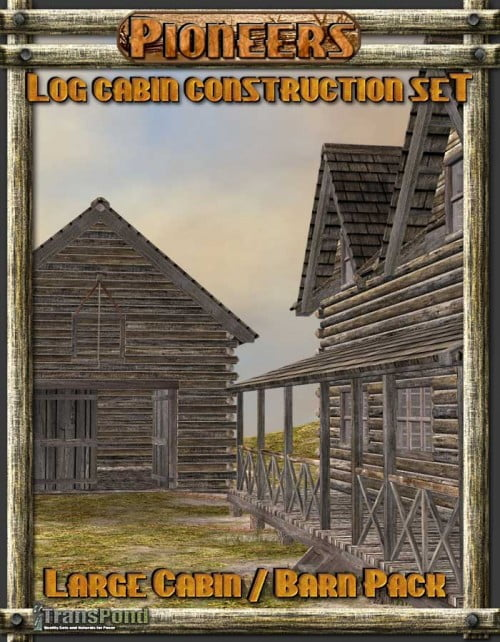 Log Cabin Construction Set ? Large Cabin Pack