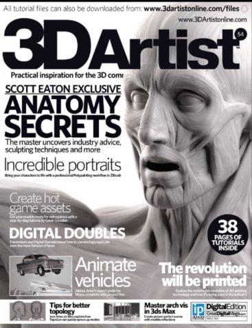 3D Artist Issue 54