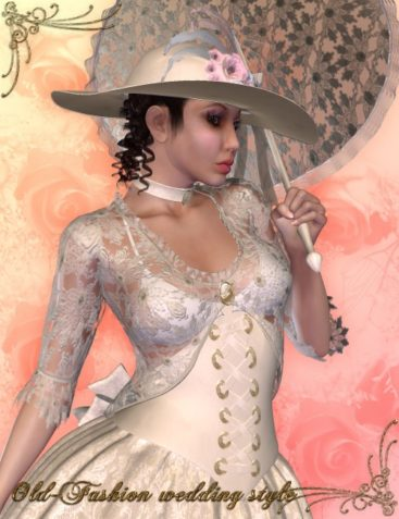 Old Fashion Wedding Style for The Victorian Era