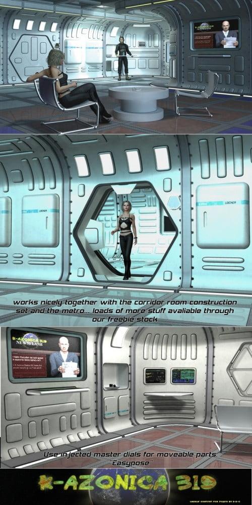 SciFi Apartment by 3-D-C