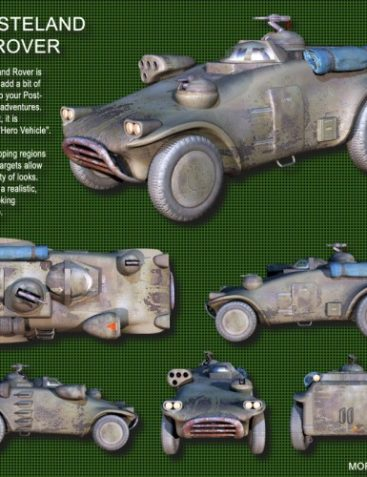 Roaring out of the Wasteland! ? Wasteland Rover