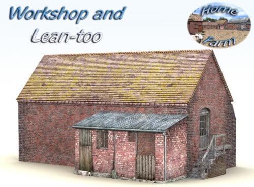 Home Farm Workshop for Poser 4+