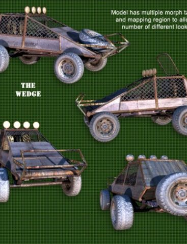 Roaring Out of the Wasteland! ? Wedge Buggy
