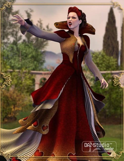 Wonderland Queen of Hearts V4