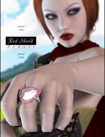 Red Shield Jewels
