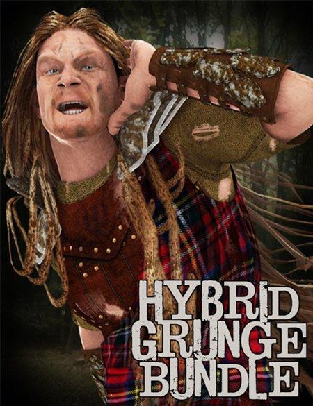Hybrid Grunge Bundle for DAZ Studio