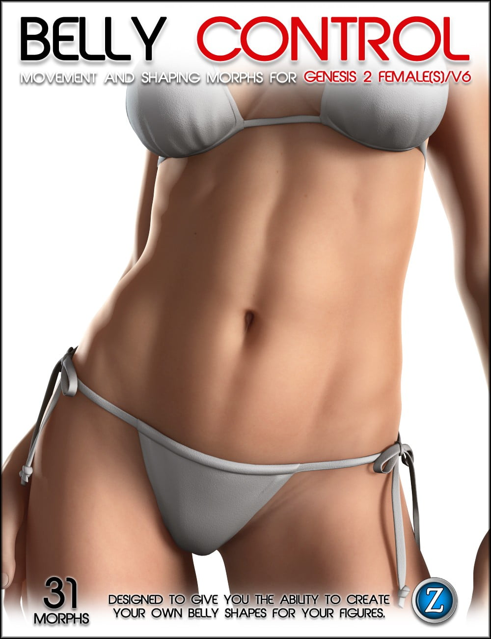 Belly Control For Genesis 2 Female(s) and V6