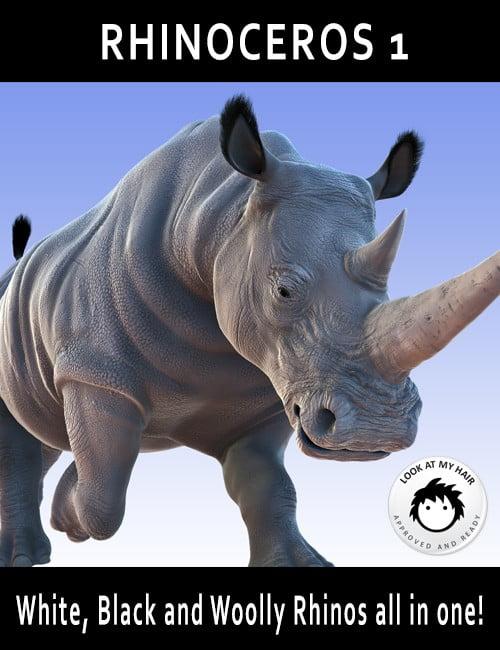 Rhinoceros 1 by AM