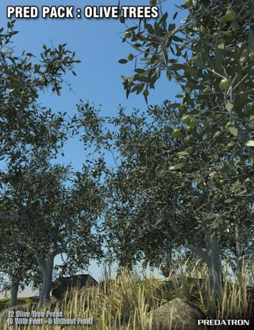 Pred Pack - Olive Trees