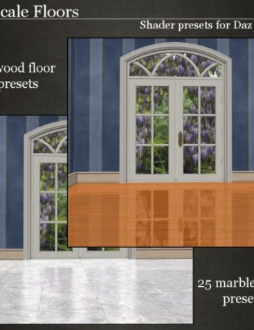 Upscale Floors For Daz Studio