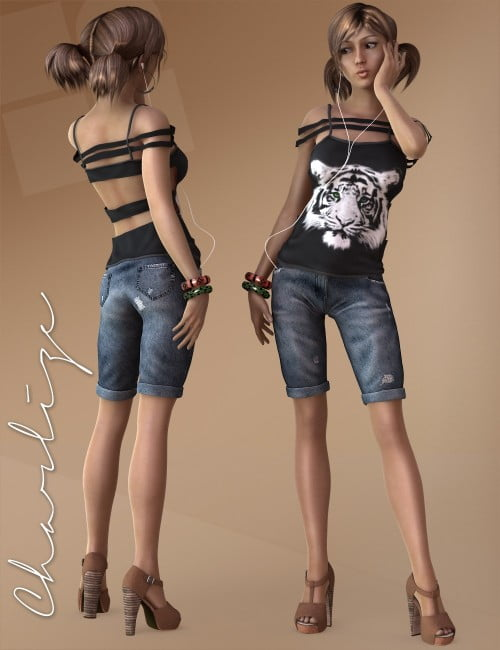 Charlize for Genesis 2 Female Accessories