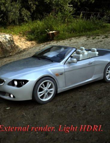 Convertible car + V4 car poses