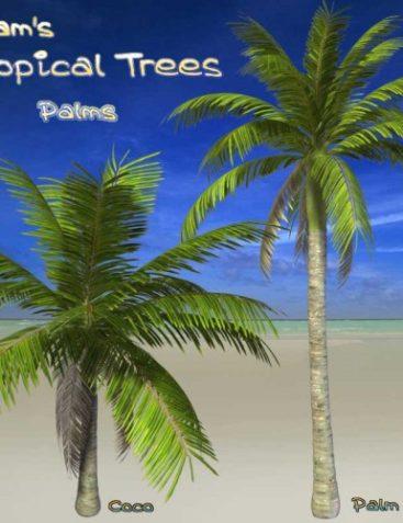 Syam's Tropical Trees - Palms