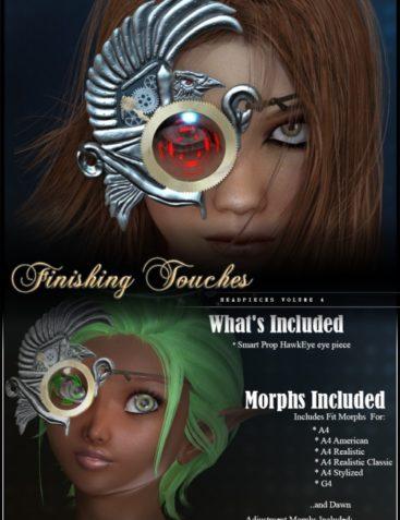 Finishing Touches: Headpieces Volume 4