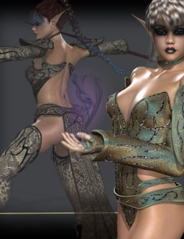 Wizardry for Seraphnia Dark Elf