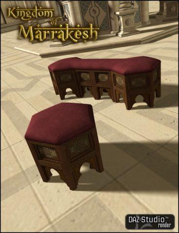 Kingdom of Marrakesh Seat