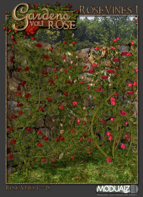 Gardens Vol 1 - Rose Vines 1 Sub Package