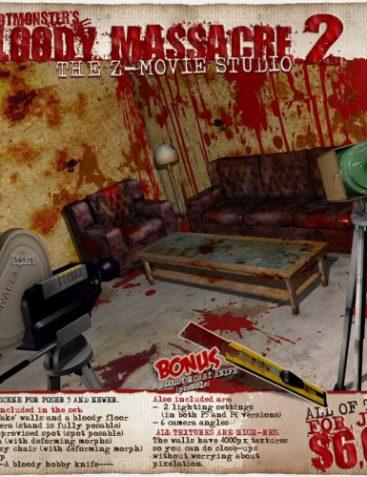 RM's Bloody Massacre 2: The Z-Movie studio