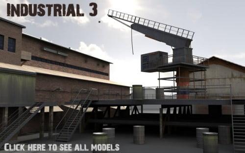Industrial 3. model pack by DEXSOFT-GAMES