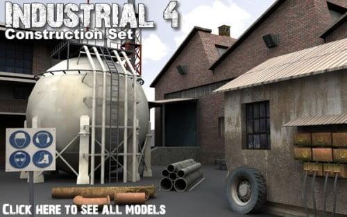 Industrial 4. model pack by DEXSOFT-GAMES