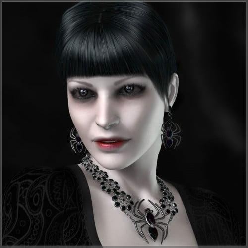 GCD Jewelry - Black Widow