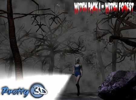 Witch Pack 1 - Witch Forest