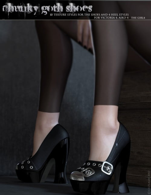 Chunky Goth Shoes