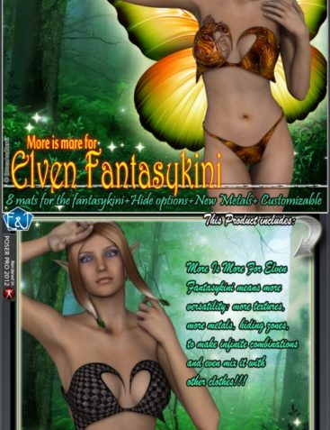More Is More For Elven Fantasykini