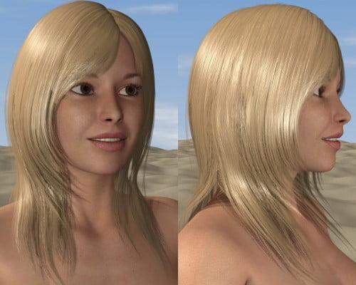D3D Perfect Hair - Poser Python Script