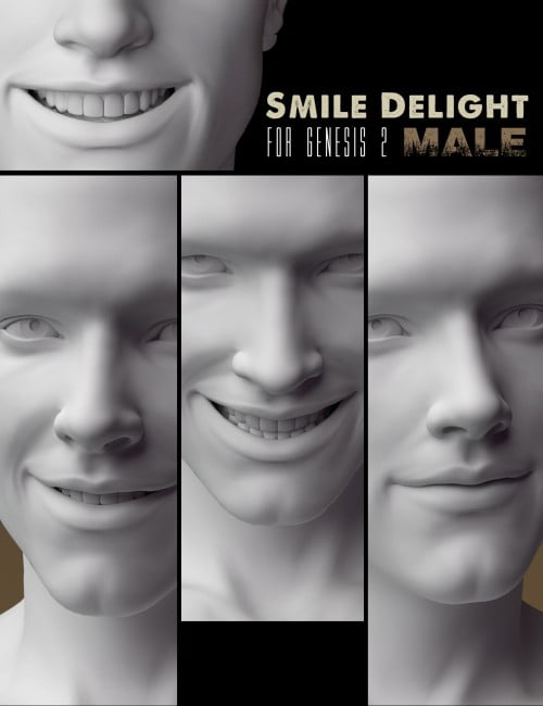 Smile Delight for Genesis 2 Male(s)